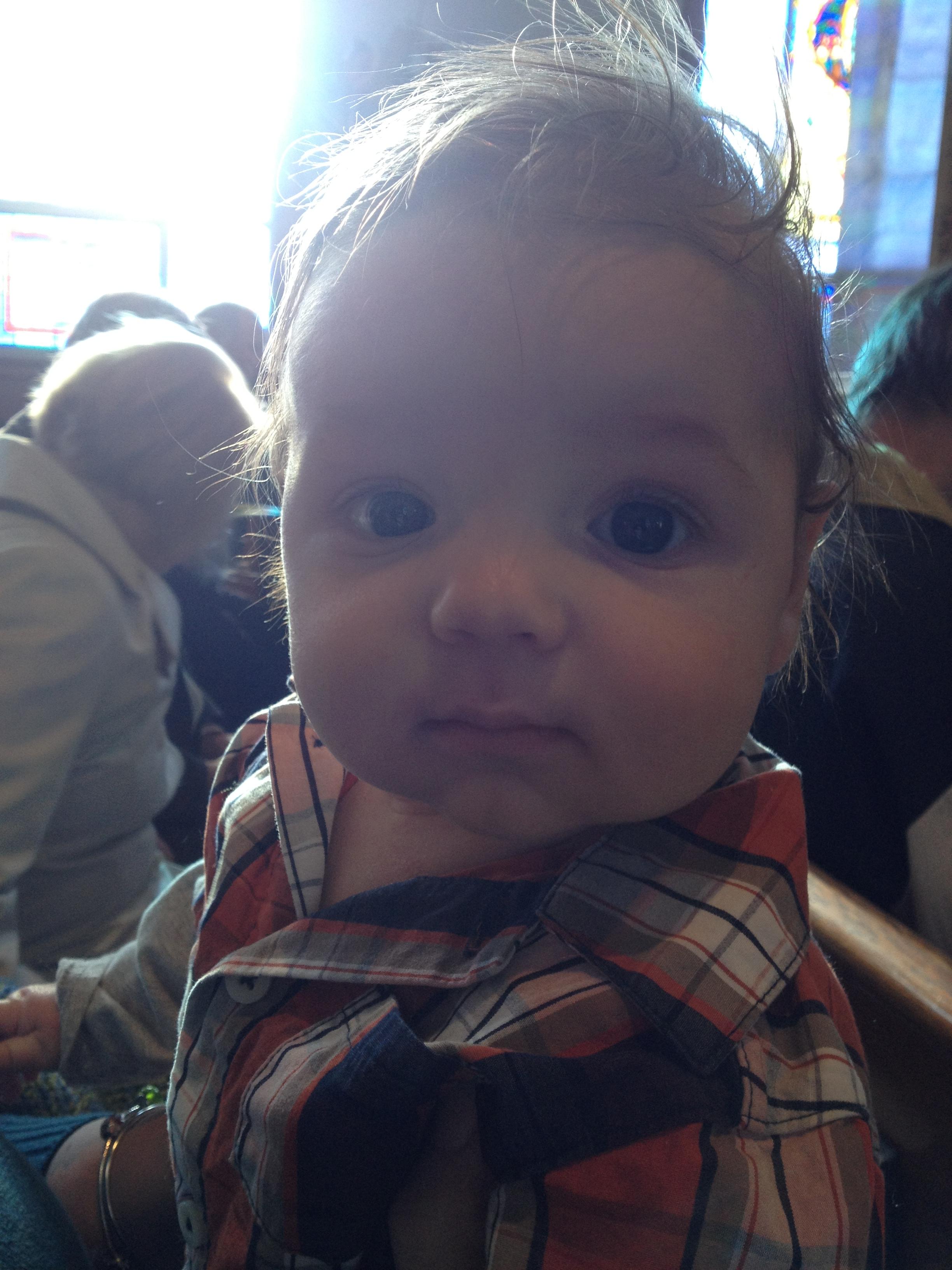 Andrew at Church