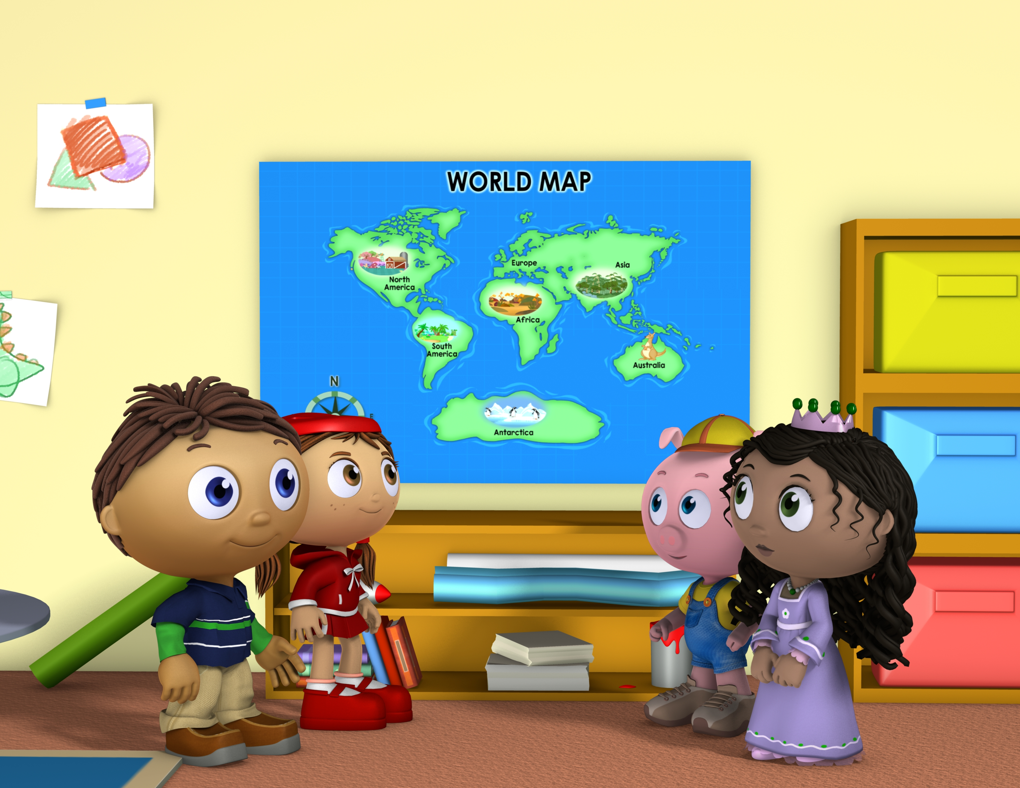 Press Release: PBS KIDS Kicks Off Summer Learning with the SUPER WHY! Around the World Adventure