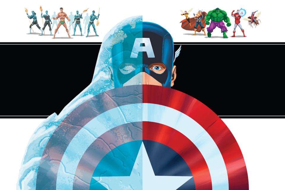 Avengers Origins: Assemble! A Marvel Reads iPad/iPhone App