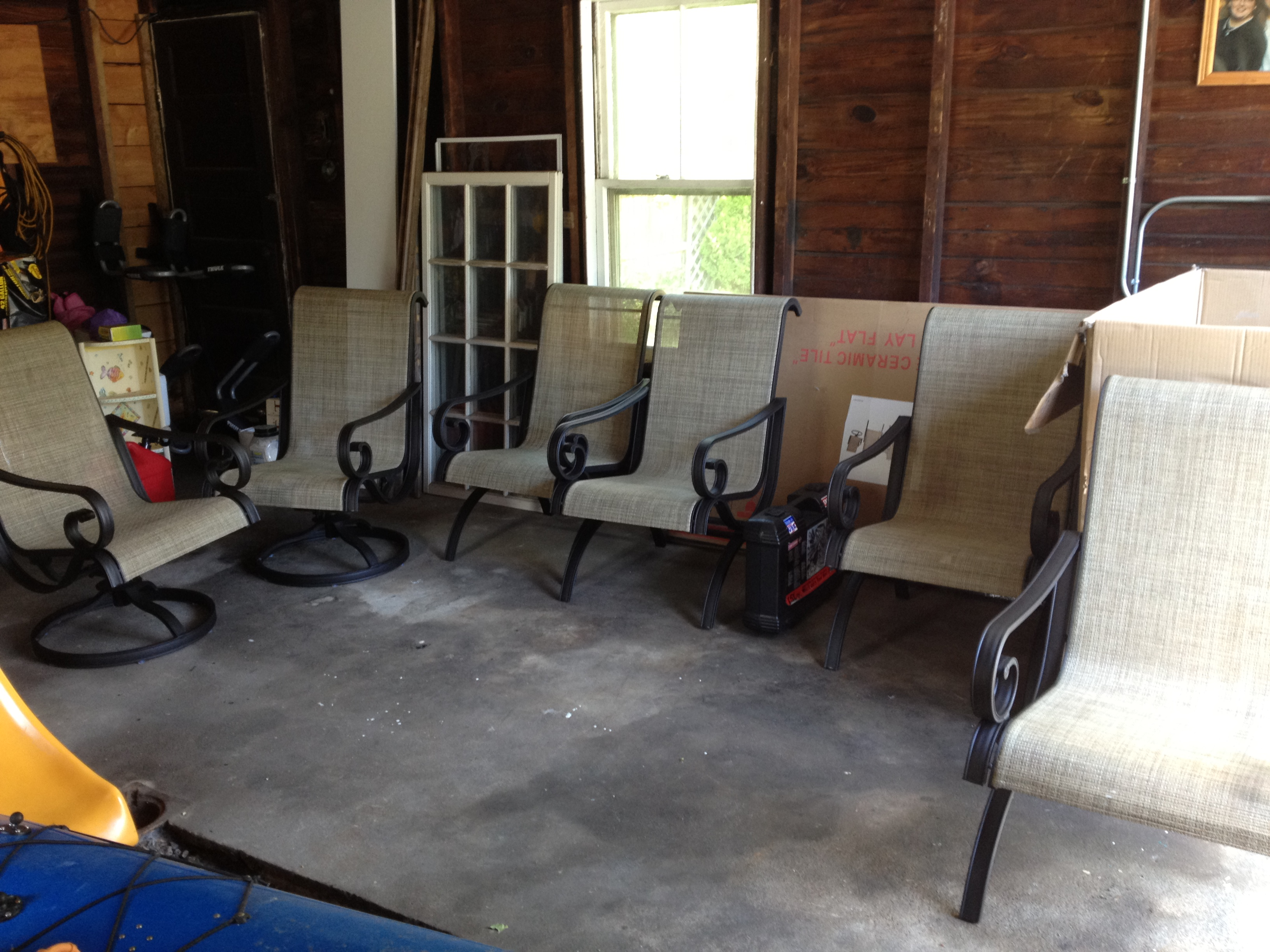 All the Chairs are done