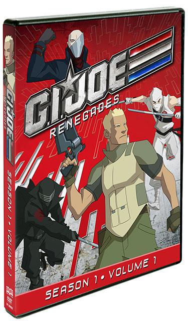 DVD Review: G.I. JOE: RENEGADES – SEASON ONE, VOLUME 1 DVD set