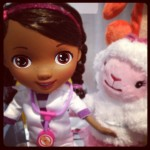 My little Doc McStuffins fan us going to flip when she sees this set. #timetoplay