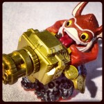#skylandersgiants Trigger Happy figure is packing some major ordinance at #timetoplay