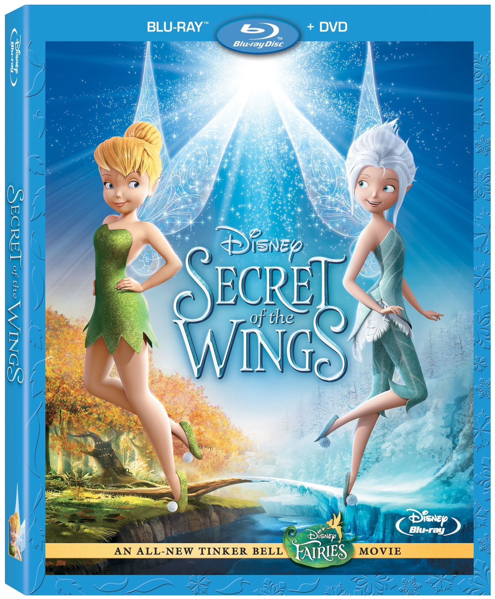 Tinkerbell and the Secret of the Wings Blu-ray
