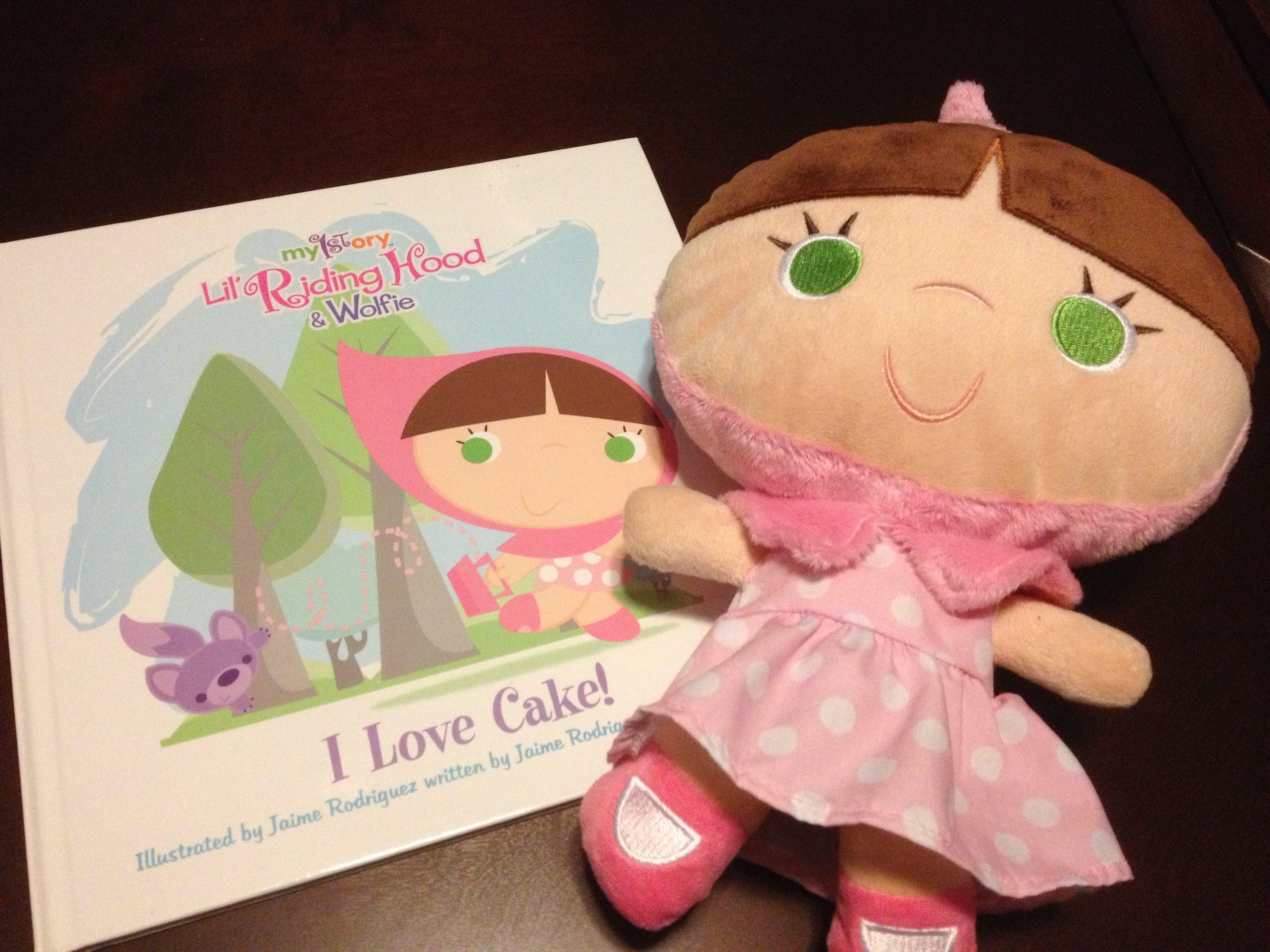 Give it Forward: My1story Lil' Riding Hood Plush and Storybook
