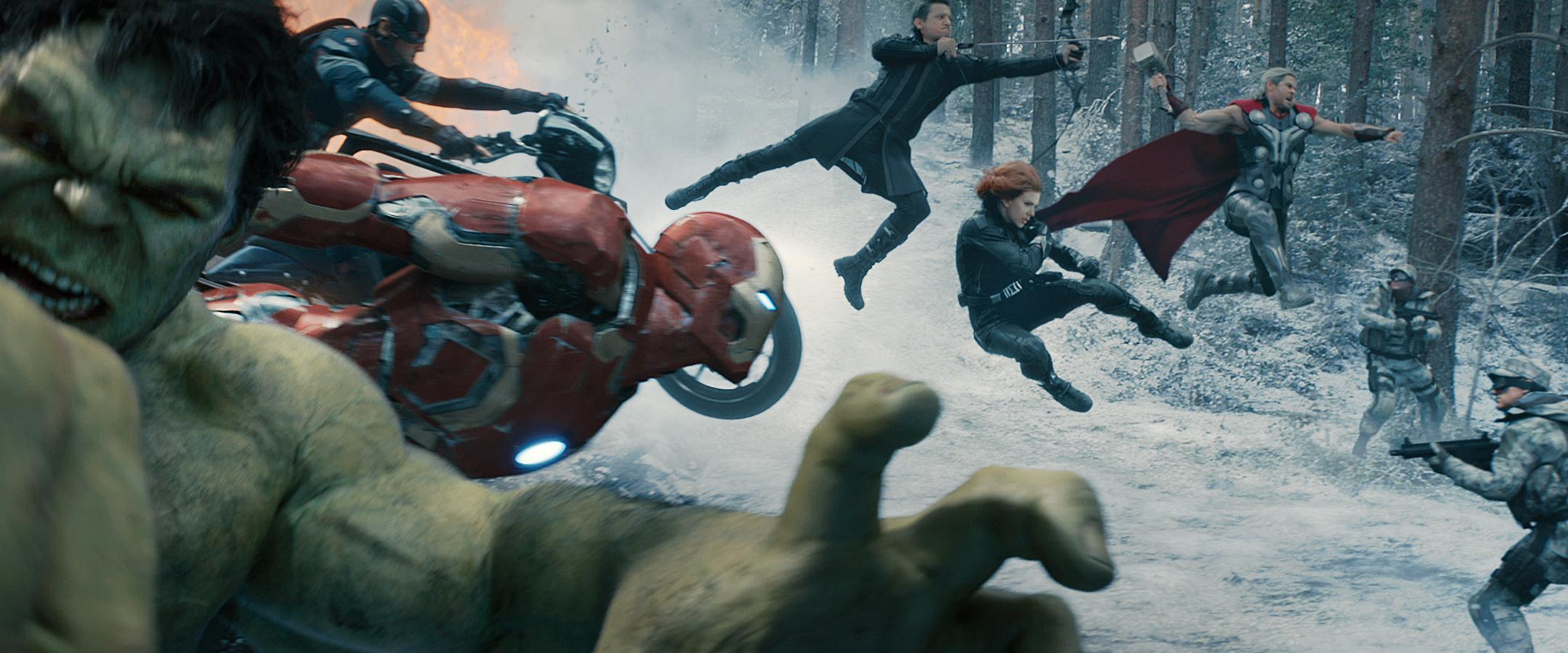 Marvel's Avengers: Age Of Ultron - Team Shot