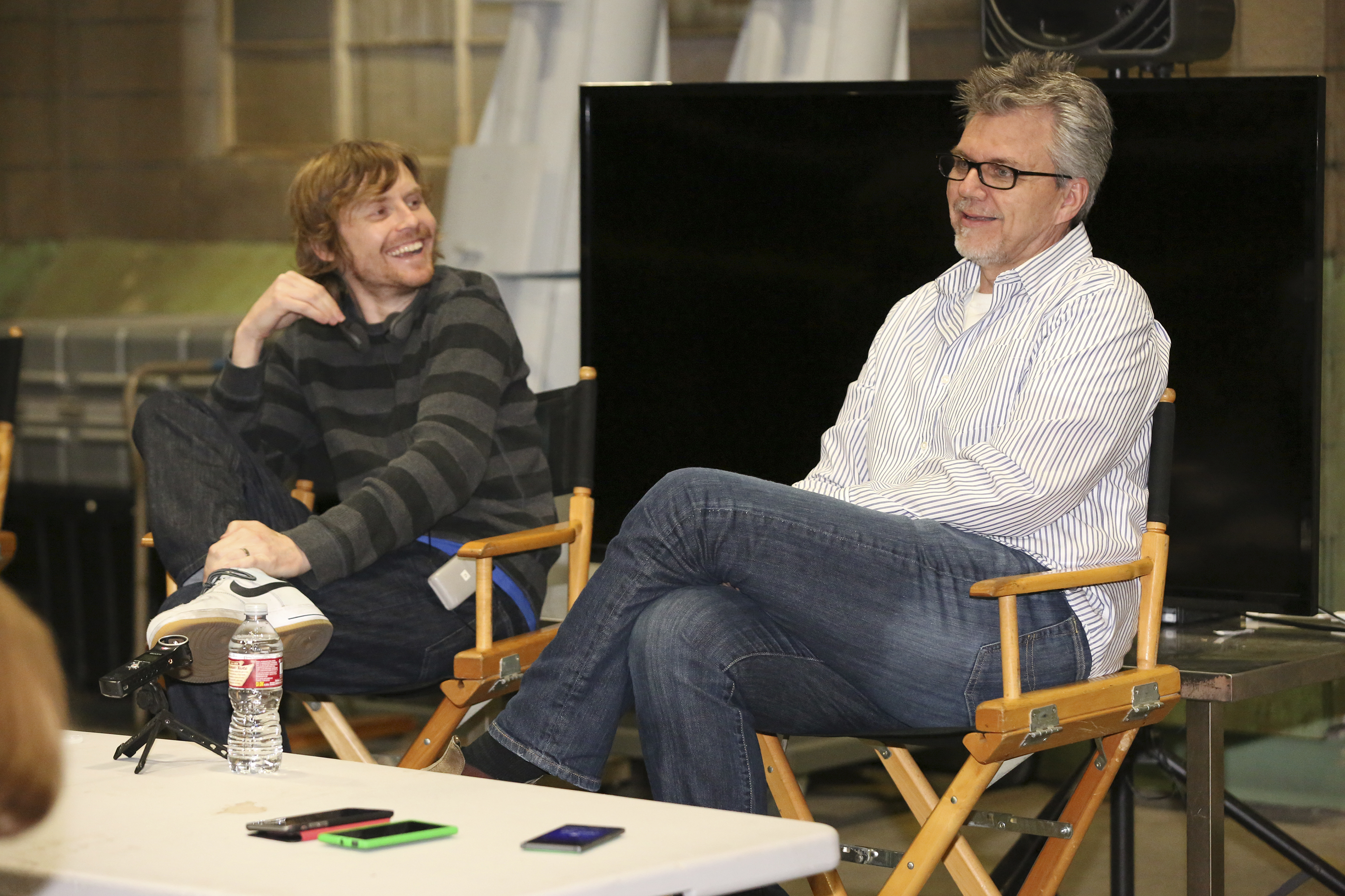 Behind the Scenes of #AgentsOfSHIELD with Jed Whedon and Jeffrey Bell
