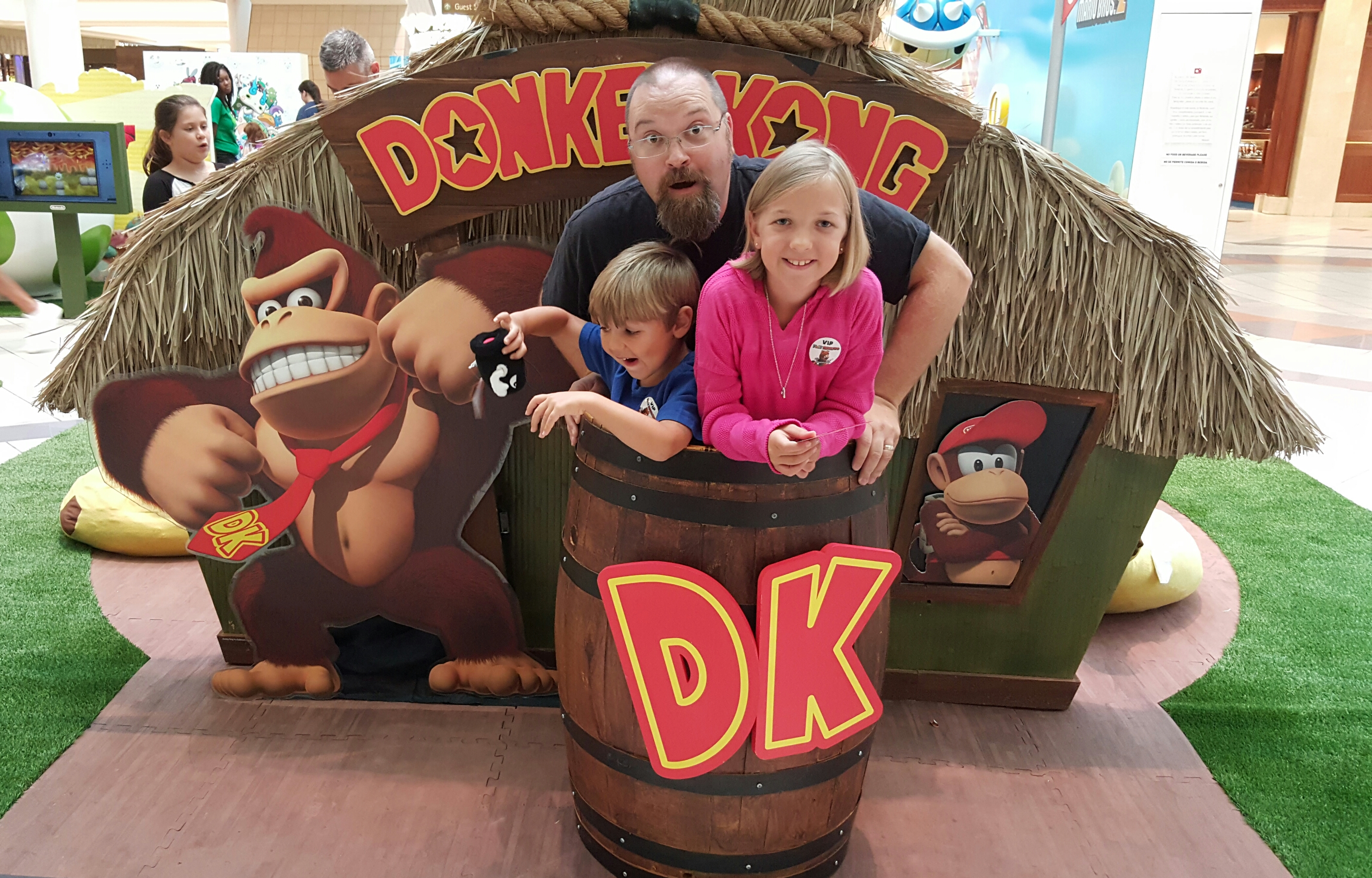 In a Barrel for Donkey Kong