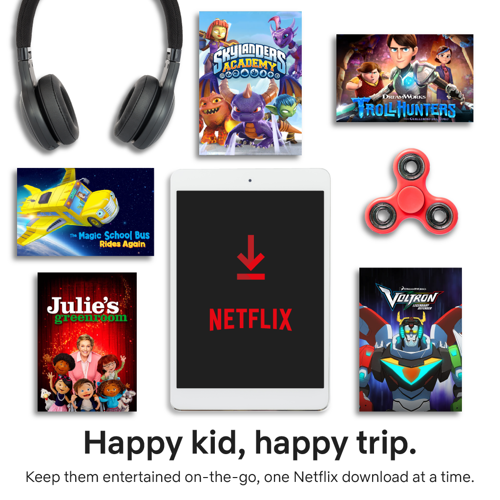 A Netflix Survival Guide for the Long Holiday Road Trip