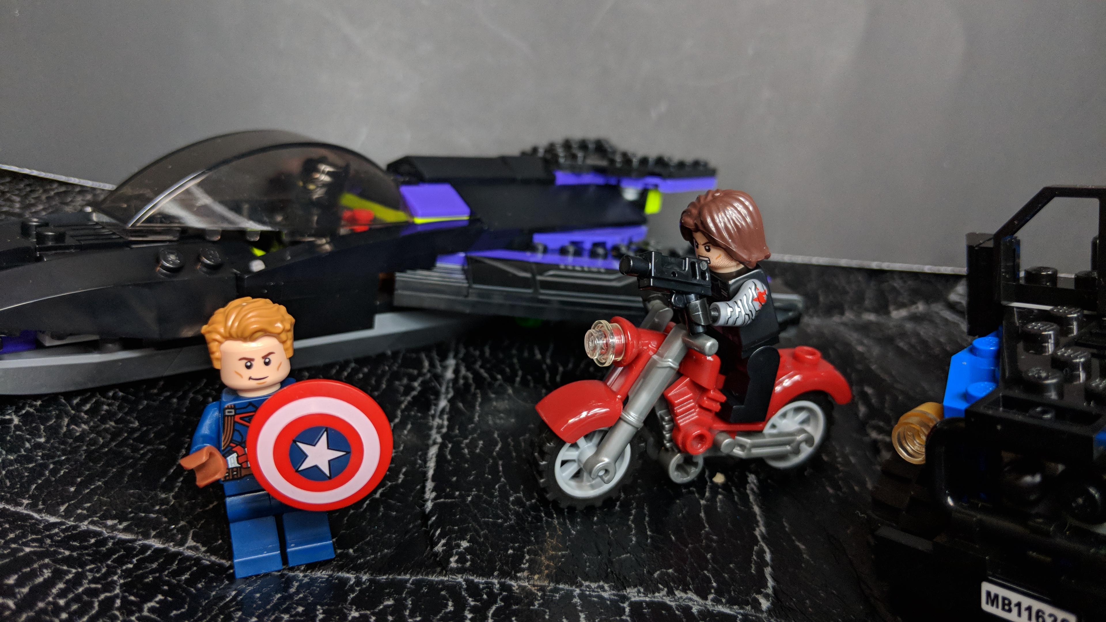LEGO Marvel Super Heroes Black Panther Pursuit