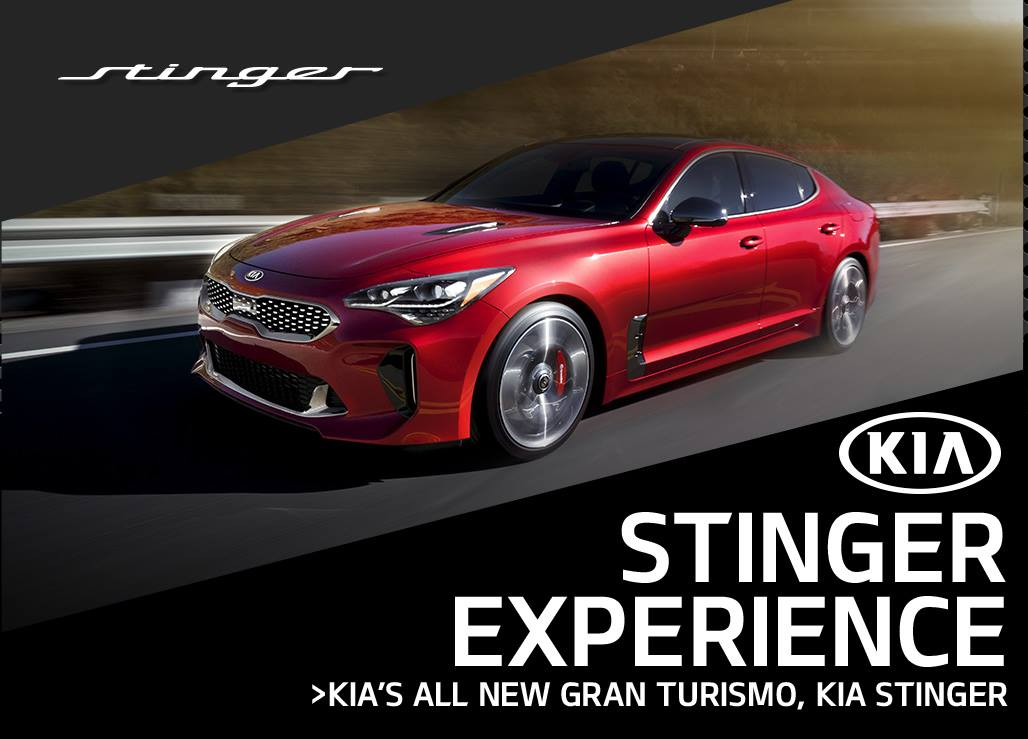 Want an Invite to the Kia Stinger Experience? I've Got the Info!