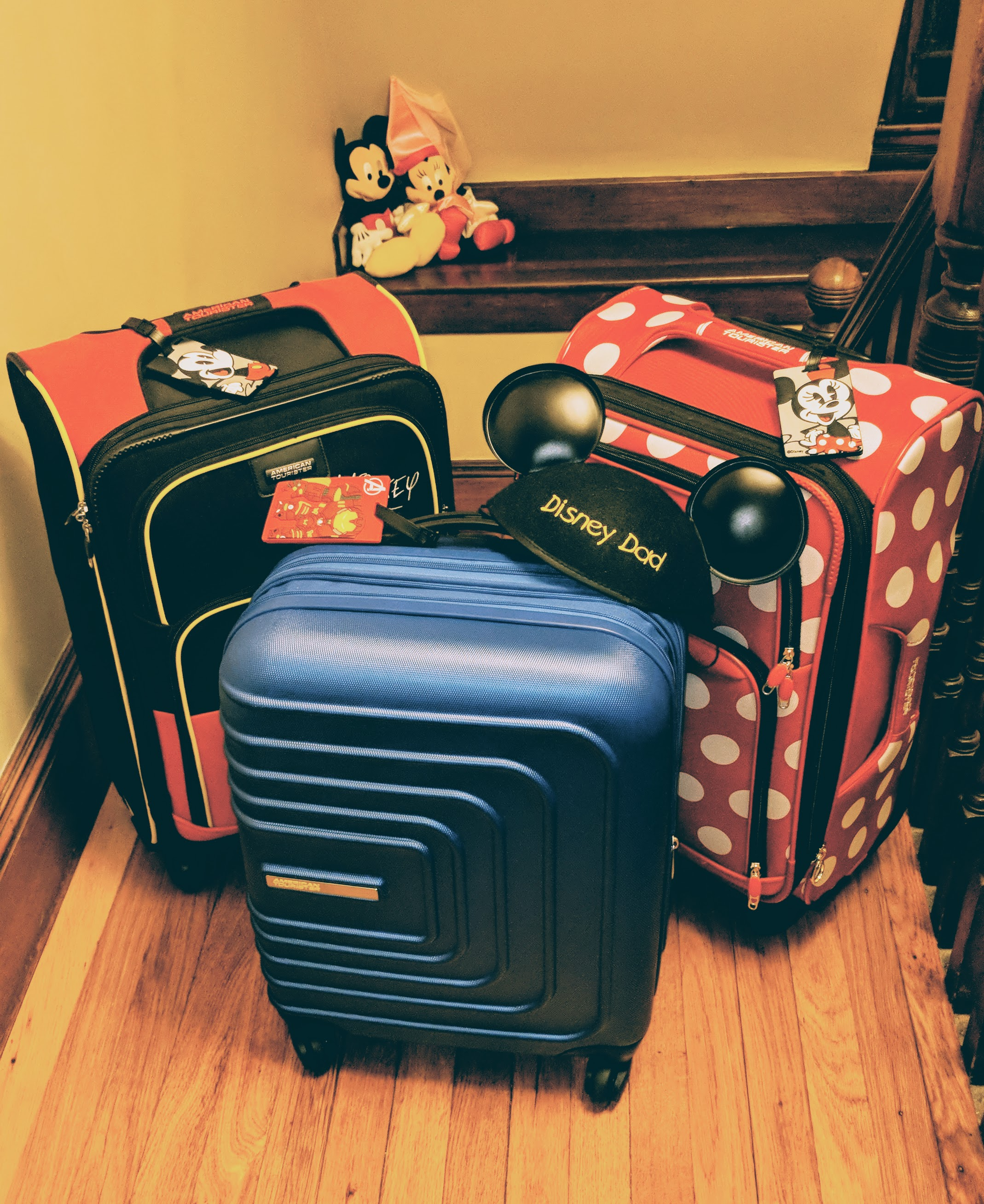 Our Disney Bags are Packed #DisneySMMC