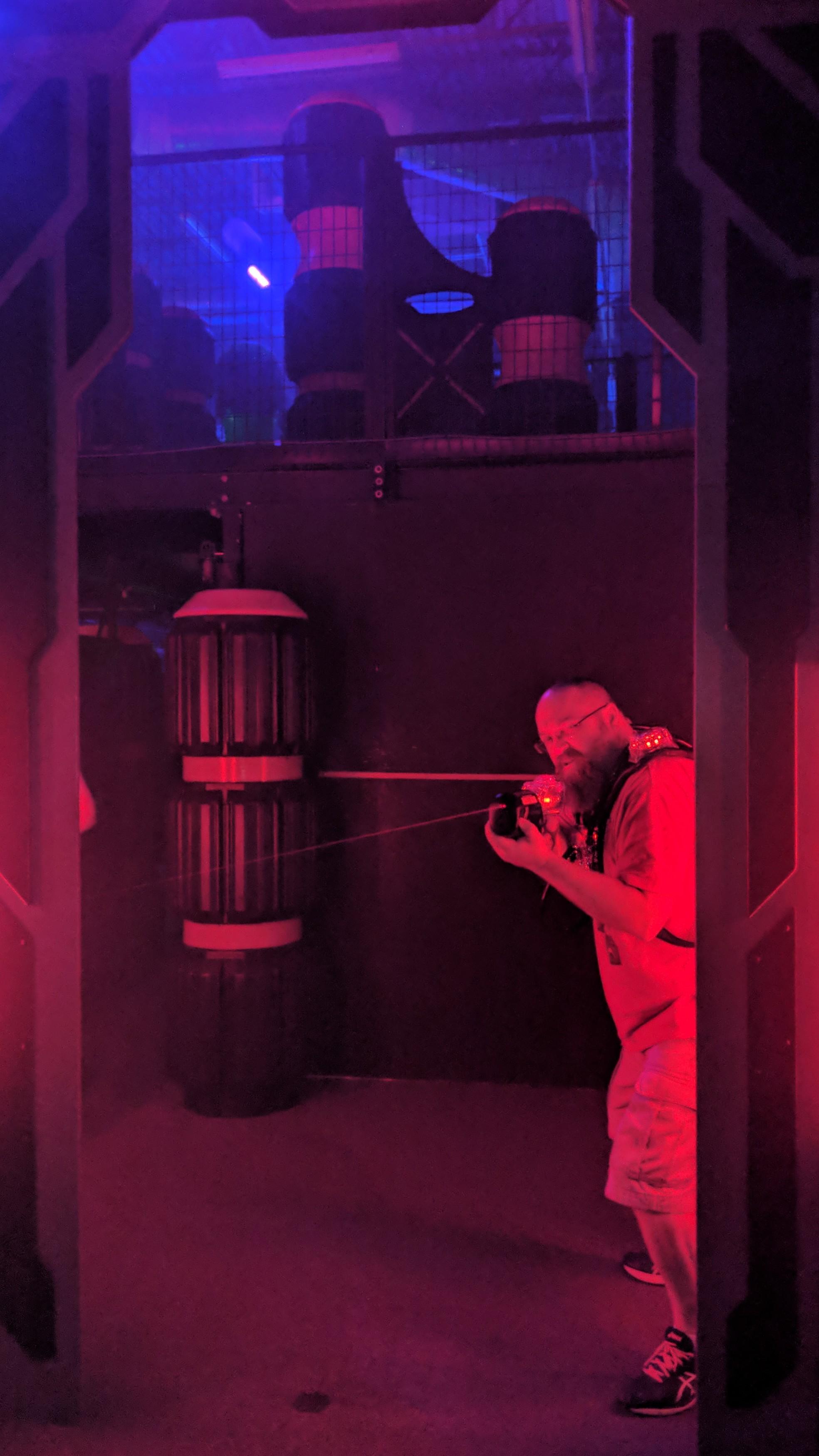Taking on Lasertron at XtremeCraze Woburn