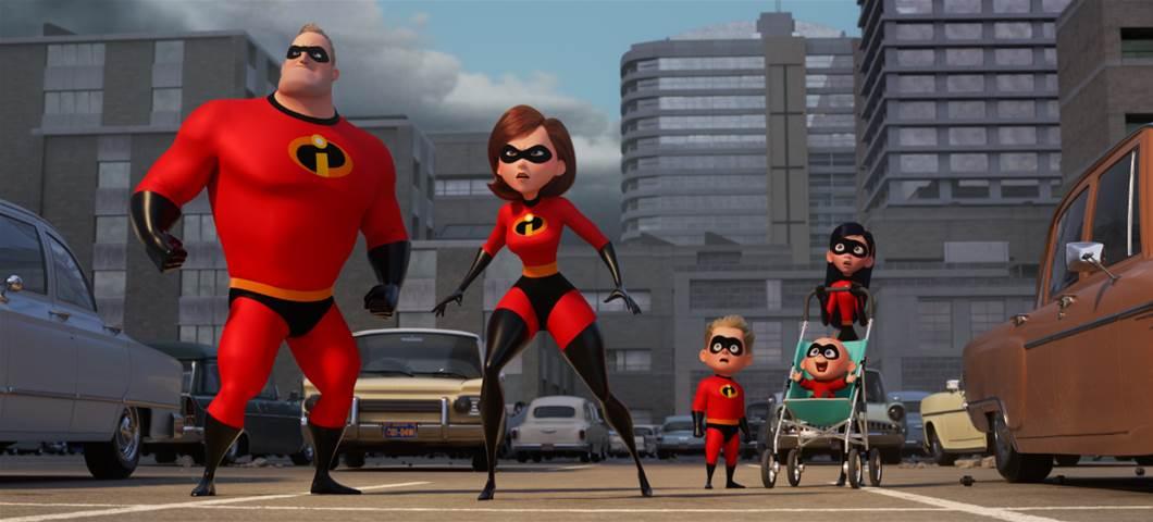 "Disney•Pixar's ""Incredibles 2 Sticks the Hero Landing on Digital Today!"