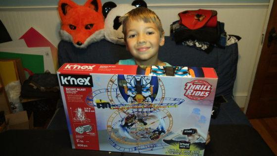 KNEX Thrill Rides Bionic Blast