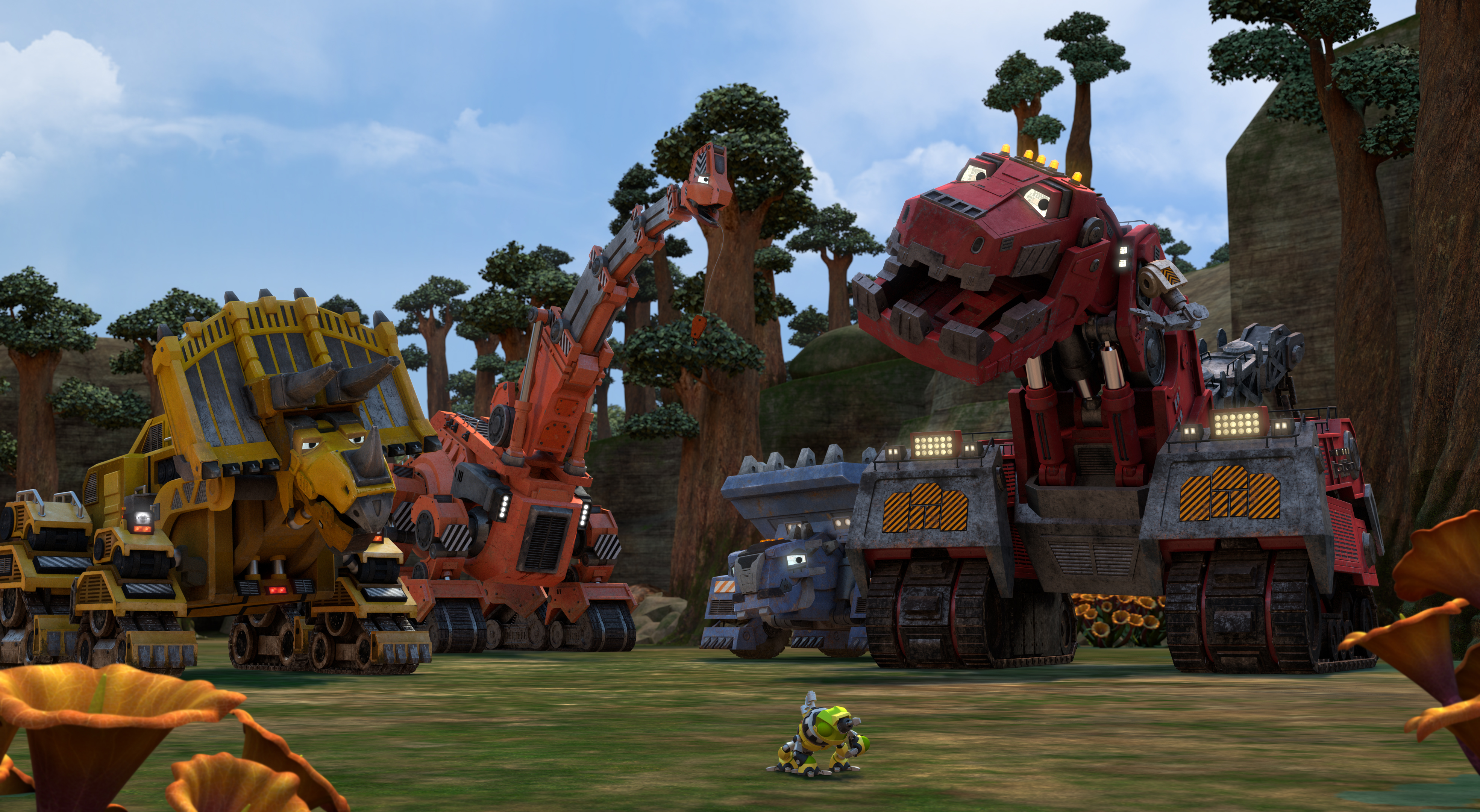 The Final Season of Dinotrux Supercharged is now on Netflix