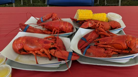 Four Lobsters