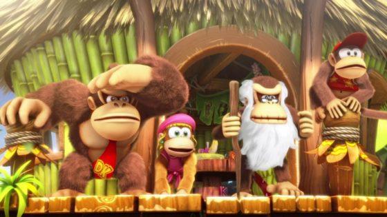 Nintendo Switch Donkey Kong Country Tropical Freeze - Kong Family