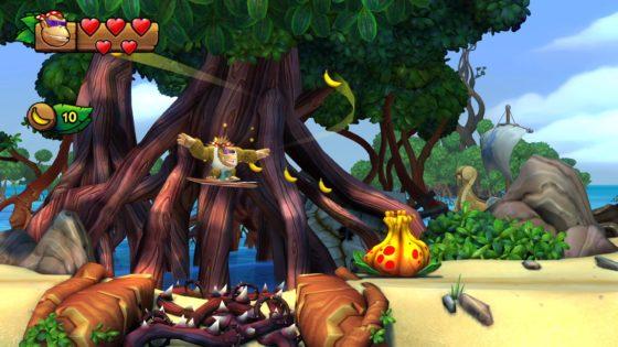 Nintendo Switch Donkey Kong Country Tropical Freeze Screenshot 1