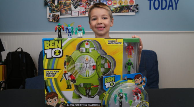 The Ben 10 Omnitrix-inspired Alien Creation Chamber from PlayMates Toys Gives Kids Endless Alien Possibilities