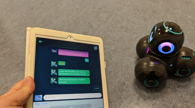 Updated Review of the Cue Robot from Wonder Workshop – New Features!