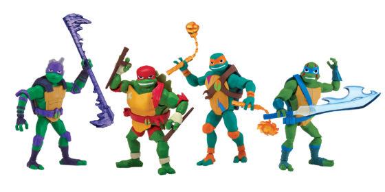 Rise of the Teenage Mutant Ninja Turtles Basic Figures