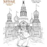 The Nutcracker Castle - Coloring Page