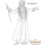 The Nutcracker Drosselmeyer - Coloring Pages