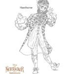 The Nutcracker Hawthorne - Coloring Pages