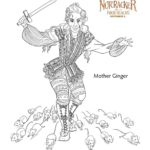 The Nutcracker Mother Ginger - Coloring Pages