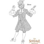 The Nutcracker Shiver - Coloring Pages