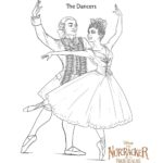 The Nutcracker The Dancers - Coloring Pages