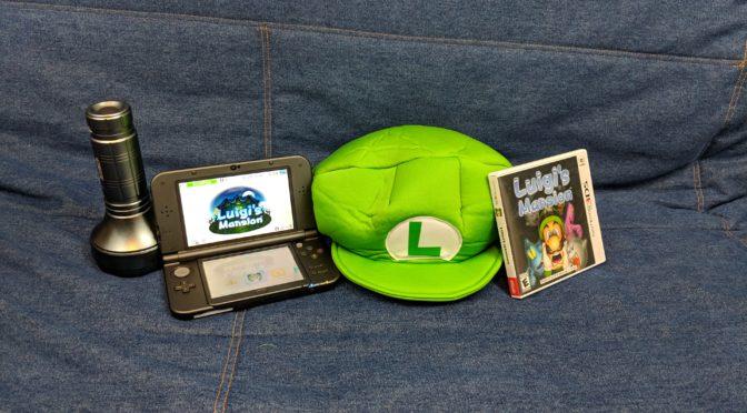 Spooky Time in Luigi's Mansion