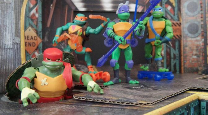 Rise of the Teenage Mutant Ninja Turtles Figures