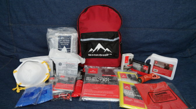 Unboxing the Rescue Guard Basic Survival Kit