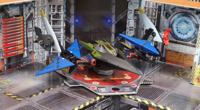 Review: ReadySetz Space Base Foldable Cardboard Playset