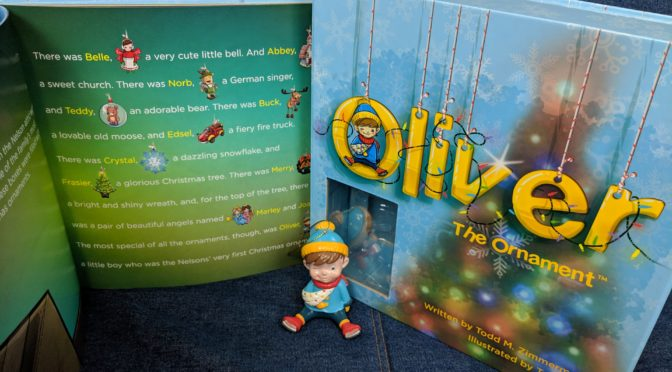 Oliver the Ornament Book