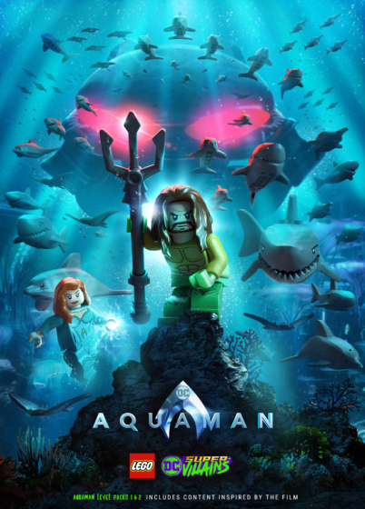 LEGO DC Super-Villains Aquaman DLC Portrait