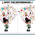 Ralph Breaks The Internet Spot Differences