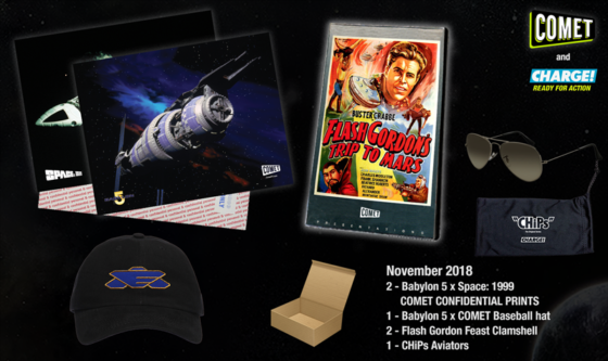 Comet and Charge Prize Pack
