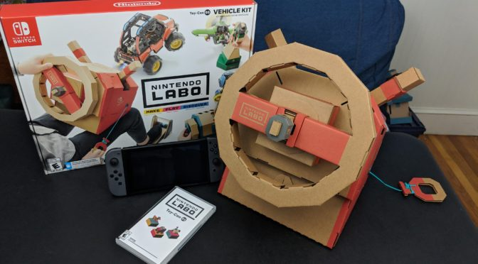 Review: Nintendo Labo Vehicle Kit
