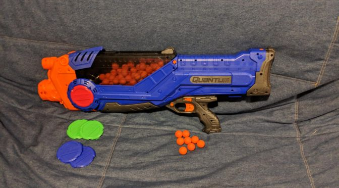Adventure Force Tactical Strike Quantum Motorized Ball Blaster