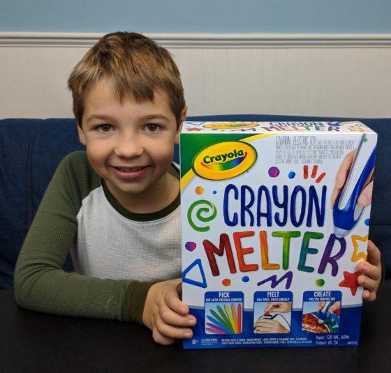 The Crayola Crayon Melter