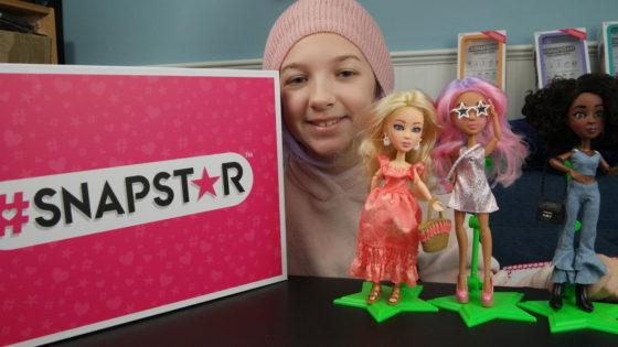 Eva and the SNAPSTAR Dolls