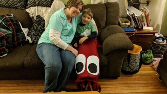 Andrew and Allison and the Giant Squid