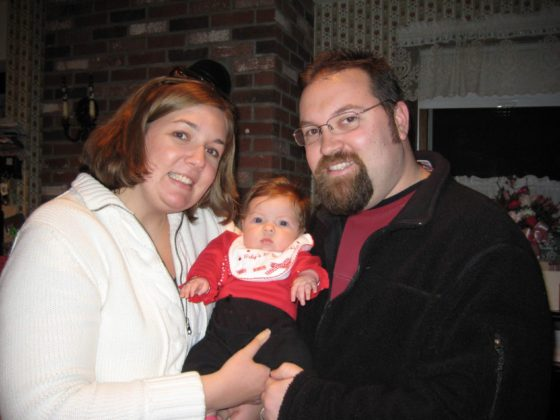 Our Family - First Valentines Day
