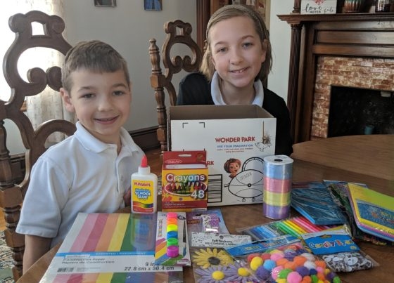 The Kids and their wonderbox