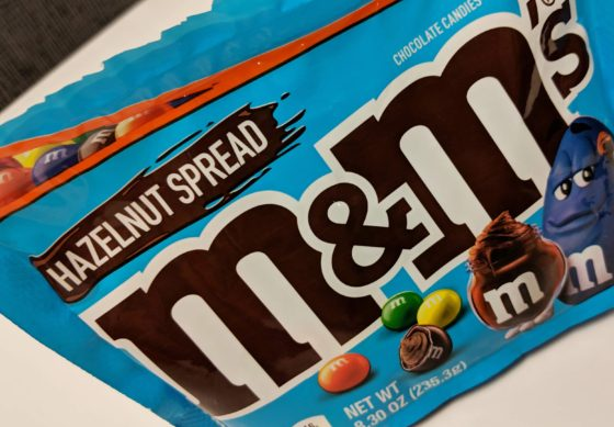 Hazlenut Spread M and Ms