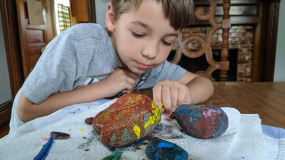 Crayons and Hot Rocks