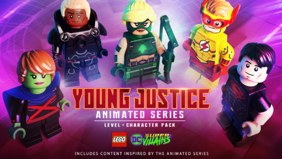 Young Justice LEGO DC Super-Villains